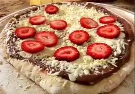 Пицца с Нутеллой