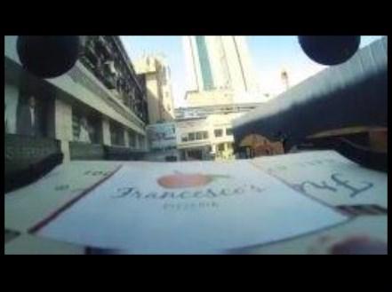 Доставка пиццы с помощью дрона в Мумбаи
