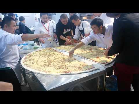 Самая большая пицца Китая. Часть 1