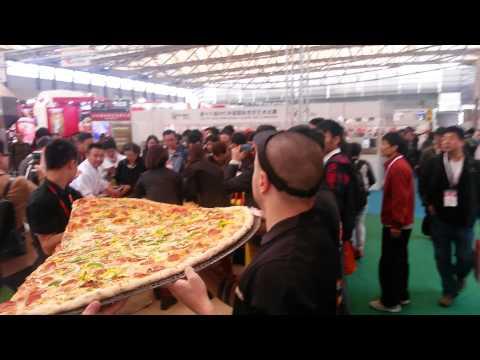 Самая большая пицца Китая. Часть 2