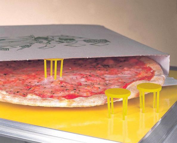 Защитные стойки для пиццы LILLY CODROIPO (pizza savers)