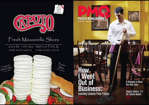 Вышел в свет мартовский номер журнала PMQ Pizza Magazine.