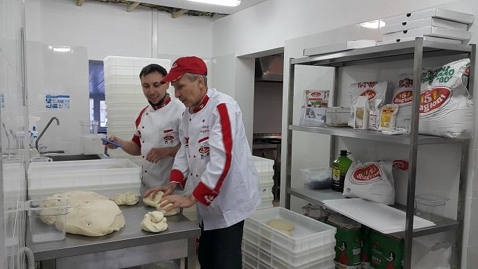 Дом пицца-школы Scuola Italiana Pizzaioli Россия