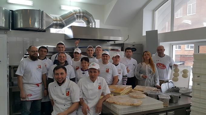 Январский курс обучения в пицца-школе Scuola Italiana Pizzaioli
