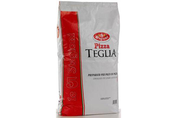 Мука Teglia для производства пиццы Teglia компании 5 Stagioni