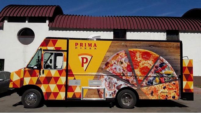 Новое направление — мобильные пиццерии