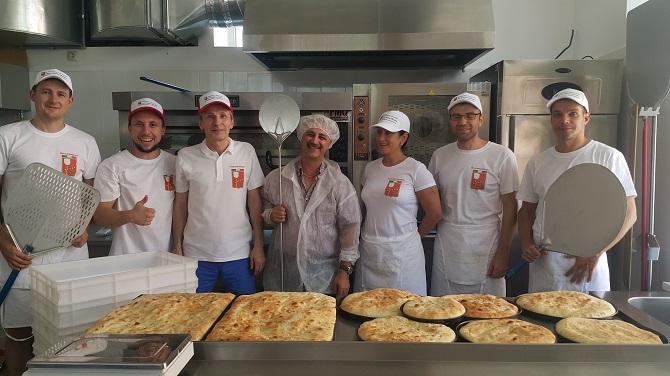 Печь PizzaMaster в пицца-школе
