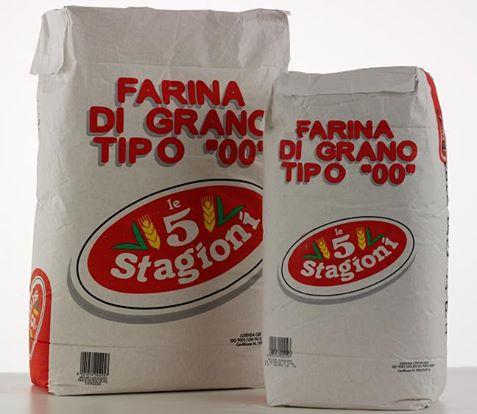 Самые используемые виды муки бренда 5 Stagioni