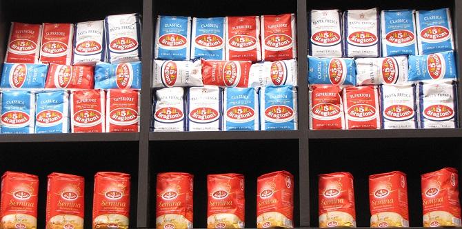 Gold (Red) бренда 5 Stagioni — мы используем лучшую в мире муку для пиццы