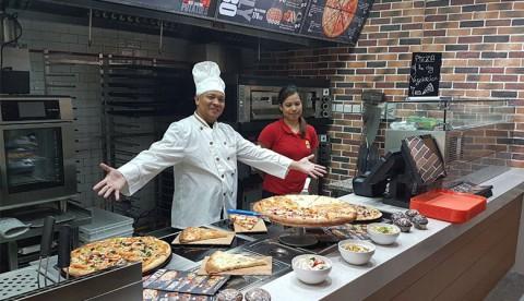 Tashir Pizza в Дубаи