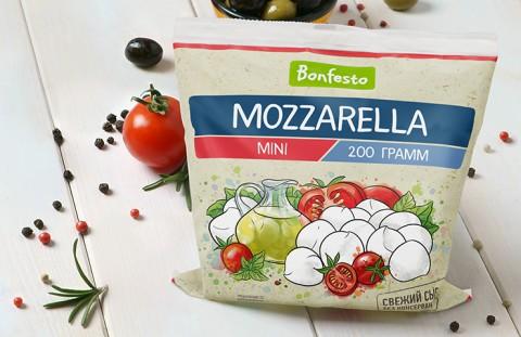 Моцарелла Мини Bonfesto: двойной объем