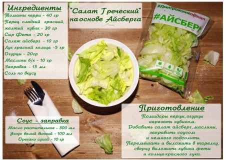 Рецепты на основе MIX салатов бренда «Салатерия» (Дмитровские овощи)