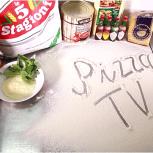 Пицца по Пятницам №9. В новом выпуске мы приготовили квадратную пиццу  «Пала» с соусами от компании Kraft Heinz Foodservice.