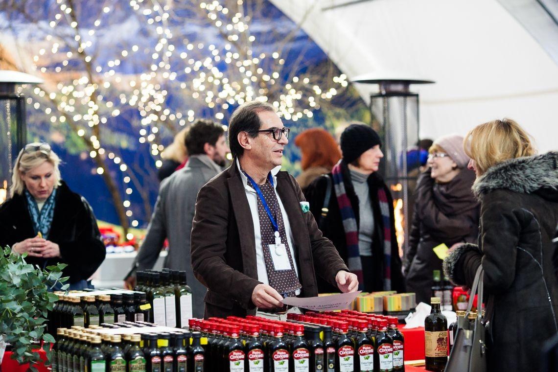 Рождественский базар 2017 в итальянском посольстве в Москве