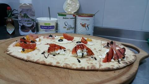 Пинца на корочке-крекер на канале «Пицца по-пятницам»