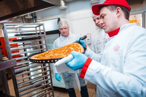 Открытая кухня — новый проект компании»ПиццаФабрика»!
