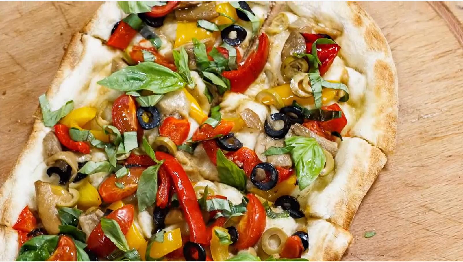 Рецепт месяца «Веганская пиццетта»