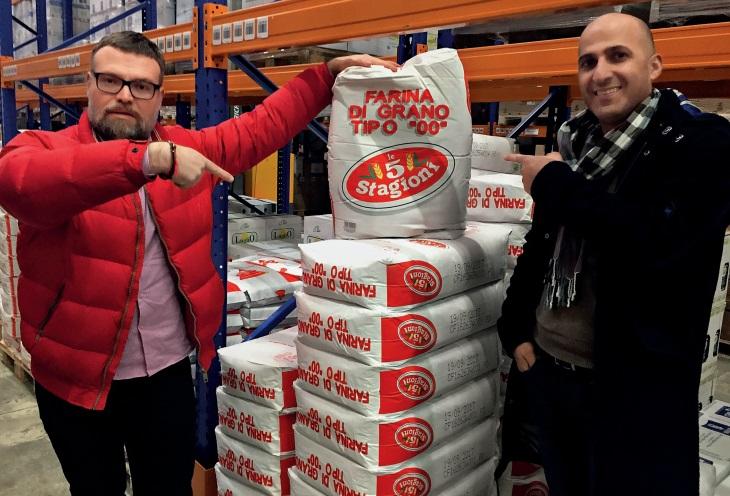 4 популярных вида муки  для пиццы компании 5 Stagioni