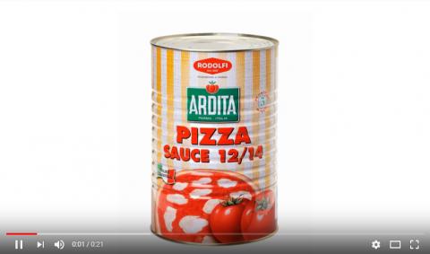 Итальянский пицца-соус бренда RODOLFI с лучшей экономикой на Вашей пицце.