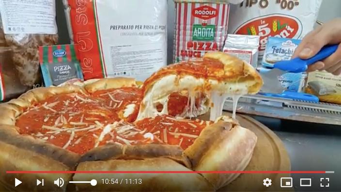 ПИЦЦА ТВ. Мега пицца! Чикагская закрытая пицца